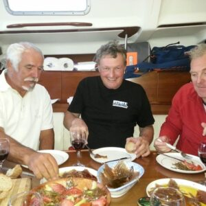 Enjoy in gourmet sailing - great food and great sailing