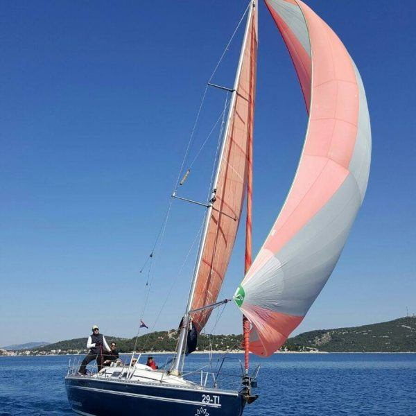 Coastal sailing and cruising