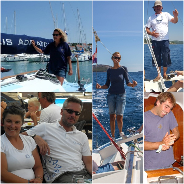 ANA Sail Instructors