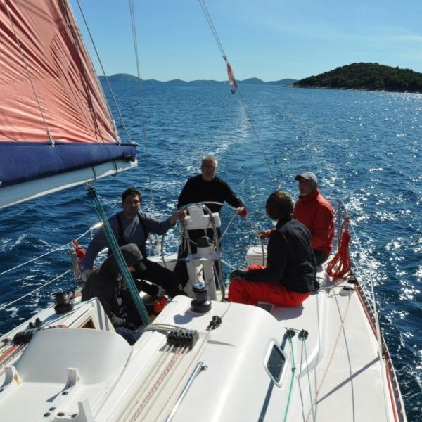 Sailing to South Dalmatia